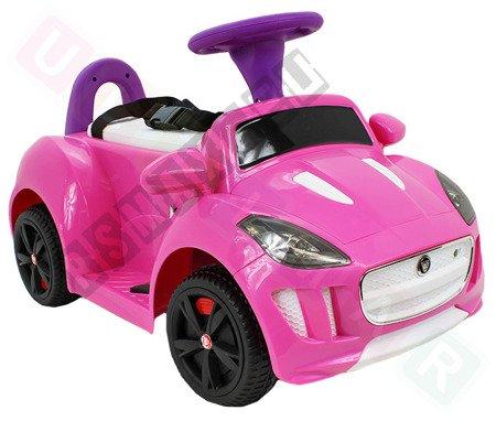 Vehicle battery Jaguar F-Type pink
