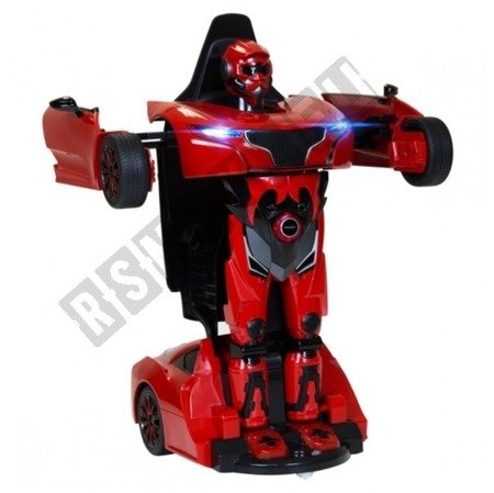 Auto remote control RS X MAN Transformer RASTAR Red