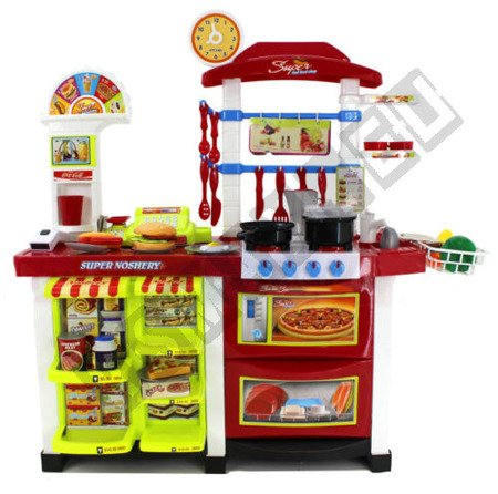 INTERACTIVE KITCHEN SHOP FAST FOOD SAFETY A HUGE
