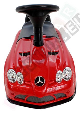 MERCEDES SLR McLAREN car pusher Red