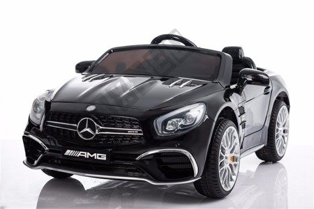 Mercedes-Benz SL65 Coupe on black lacquered