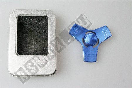 The original super FIDGET SPINNER aluminium blue