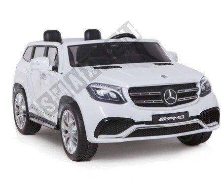Auto na akumulator Mercedes Benz GLS63 AMG biały