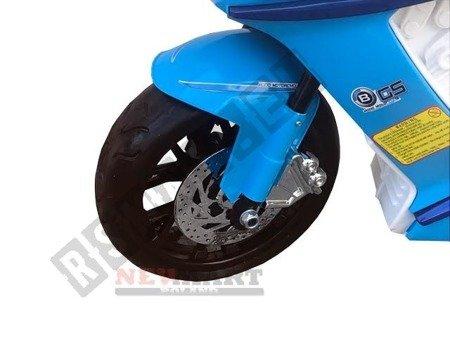 Motor, ścigacz dla dziecka 2 silniki niebieski HIT