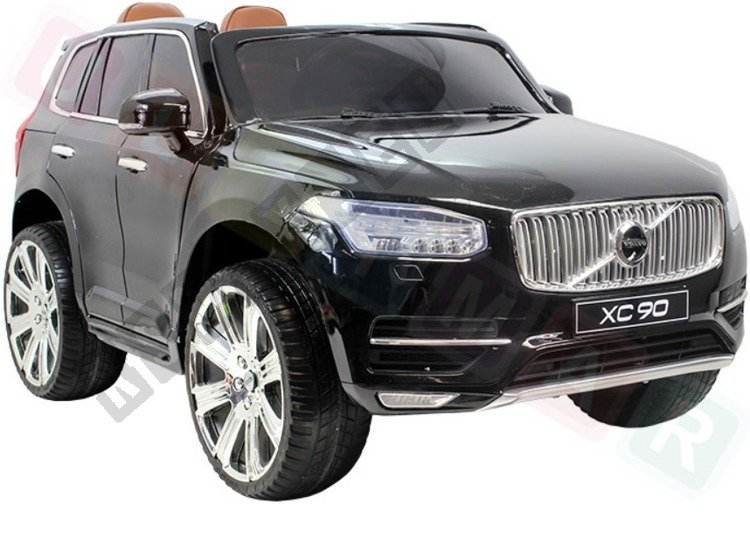 Car On Volvo Xc90 Battery Black Lacquered Electric