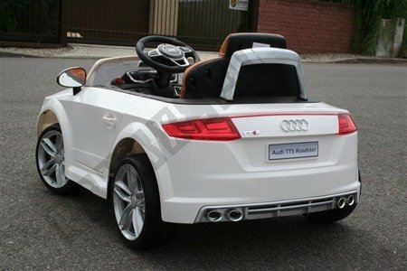 Audi TTS ROADSTER battery yellow lacquered