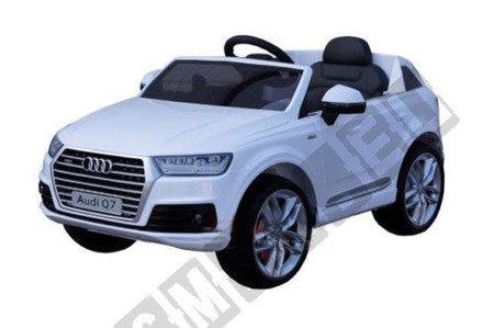 Auto battery Audi Q7 SUV white lacquered!