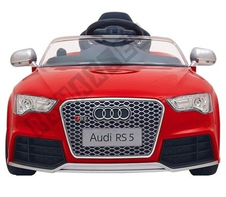 Auto battery Audi RS5 red lacquered
