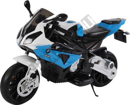 Motor on BMW S1000RR License Blue