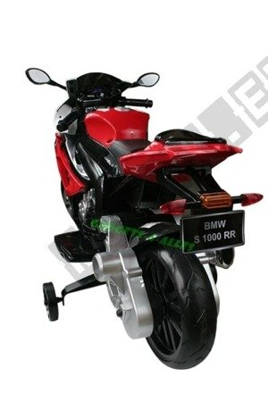 Motor on BMW S1000RR License Red