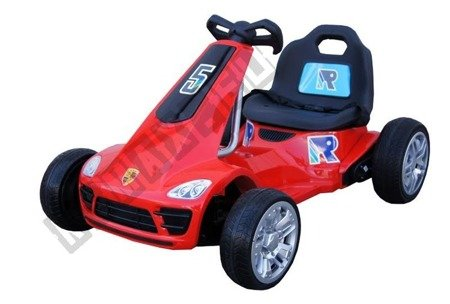 Vehicle battery Gokart 2. 4 g Red