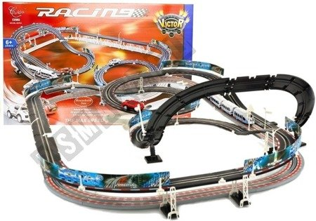 2in1 Racing Kit RC Rail Tracks Motorway Vehicles