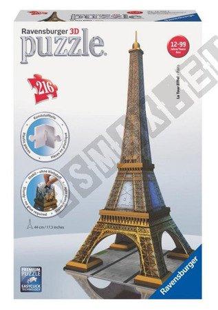 3D spatial puzzle Eiffel Tower 216 elements