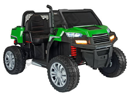 A730-1 Electric Ride-On Car Green-Silver