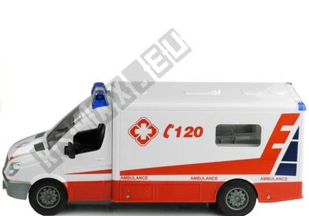 Ambulance 1:18 remote control 2.4GHz vehicle toy for children