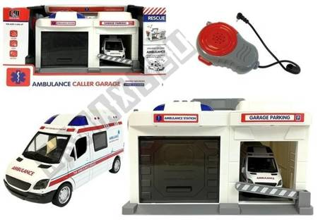 Ambulance Service Base with Microphone and Loudspeaker