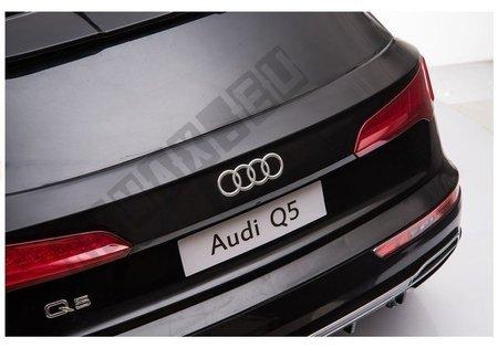 Audi Q5 Electric Ride-On Car Police Black