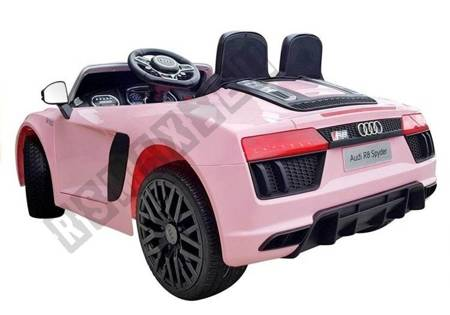 Audi R8 Spyder Electric Ride On Car – Pink