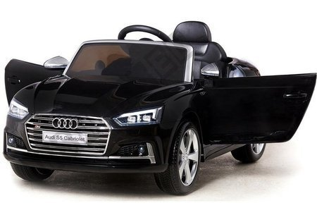 Audi S5 NEW Black Painting - Electric Ride On Vehicle
