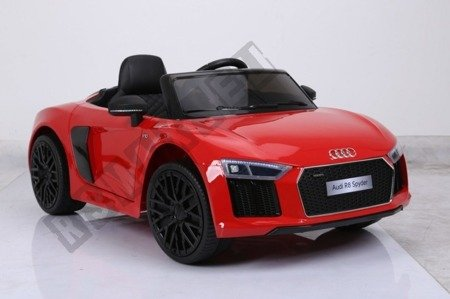 Auto battery Audi R8 Spyder license red