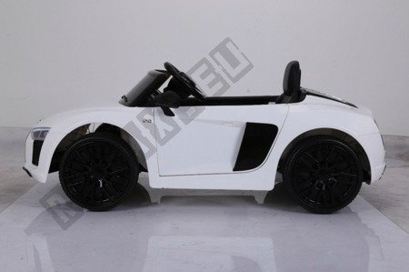 Auto battery Audi R8 Spyder license white