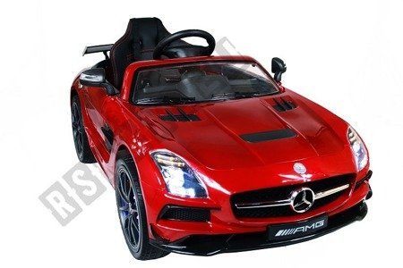 Auto battery Mercedes SLS AMG Maroon  lacquered