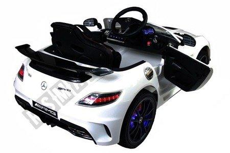Auto battery Mercedes SLS AMG white