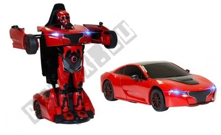 Auto remote control RS X MAN Transformer RASTAR Red