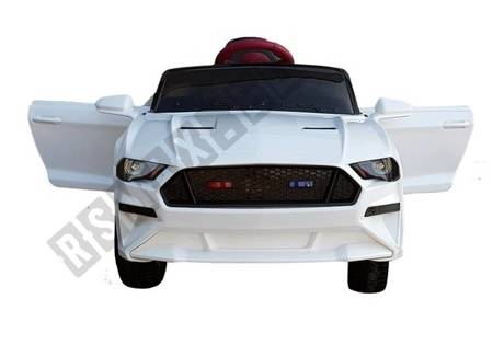 BBH-718A Electric Ride On Car - White
