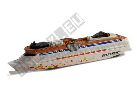 Battery Powered Ship with Lights and Sounds
