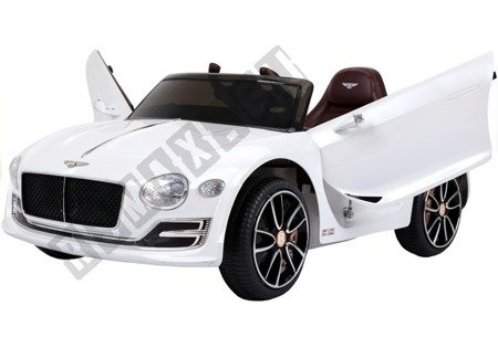 Bentley Electric Ride On Car - White
