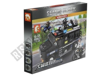 Bricks SWAT Special Forces VAN 705 Elements