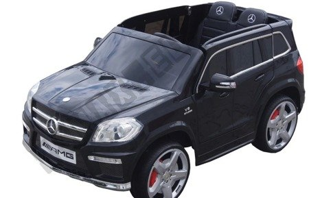 Car on Mercedes GL63 AMG battery leather black