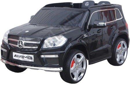Car on Mercedes GL63 AMG battery leather black