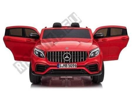 Electric Ride-On Car Mercedes GLC 63S QLS Red Painted