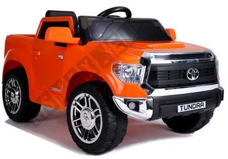 Electric Ride-On Car Toyota Tundra Orange