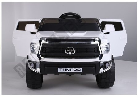 Electric Ride-On Car Toyota Tundra White