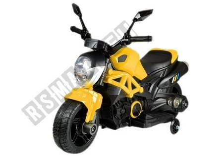 Electric Ride On Motorbike GTM1188 Yellow