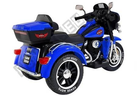 Electric Ride-On Motorbike SX138 Blue