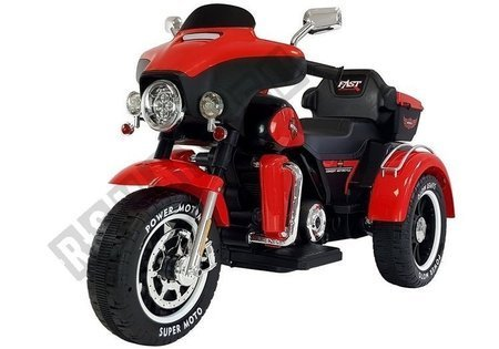 Electric Ride-On Motorbike SX138 Red
