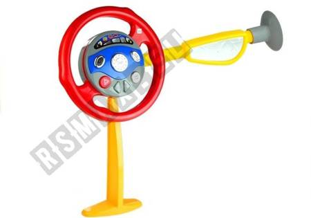 Electronic Backseat Driver Childrens Kids Realistic Steering Wheel