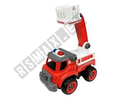 Fire Engine For Unscrewing Slide + Tools