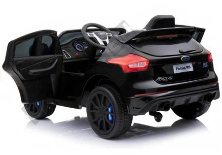 Ford Focus RS Black Painting - Electric Ride On Car