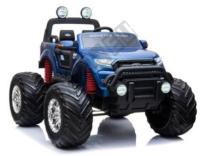 Ford Ranger Monster Blue Painted LCD - Electric Ride On Car