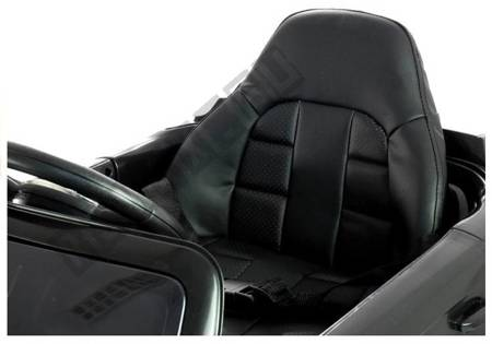 HL1538 Black - Electric Ride-On Car