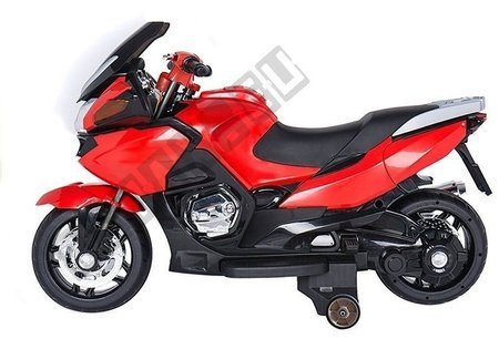 HZB118 Red - FL219 Motorcycle Silver - Electric Ride On Motorbike