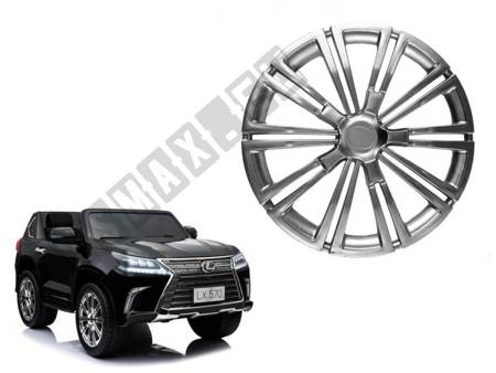 Hubcap for electric ride-on LEXUS