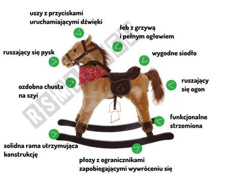 INTERACTIVE ROCKING HORSE FOR KIDS