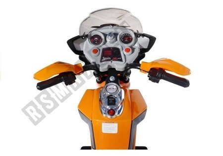 J518 Electric Ride On Motorcycle - Orange