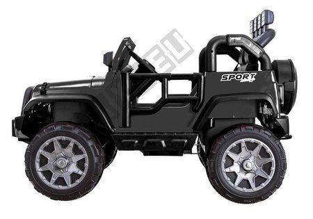 Jeep HP012 Electric Ride On Car - Black